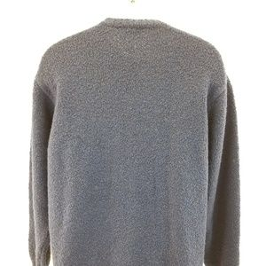Gran Sasso Sweaters - Gran Sasso Blue  Made Italy Wool Silk Cashmere V N
